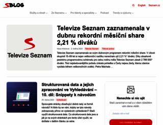 cialissideeffects.sblog.cz screenshot