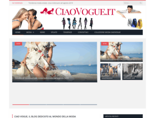 ciaovogue.it screenshot