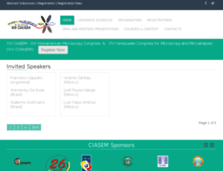 ciasem2015.com.ve screenshot