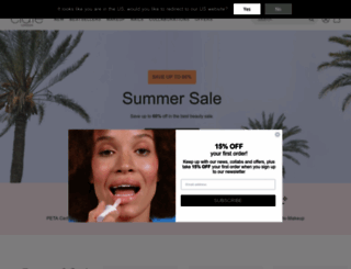 ciatelondon.com screenshot