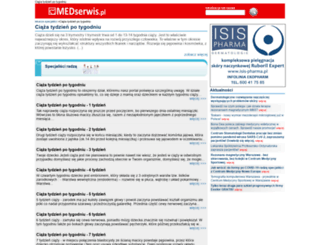 ciazatydzienpotygodniu.medserwis.pl screenshot