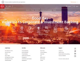 cib.absa.co.za screenshot