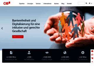 cib.de screenshot