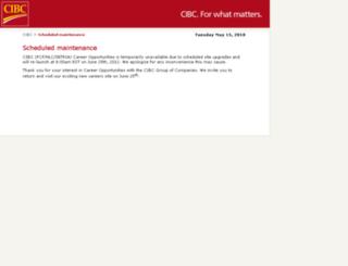 cibc.njoyn.com screenshot