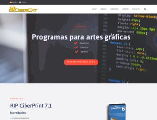 cibercat.es screenshot
