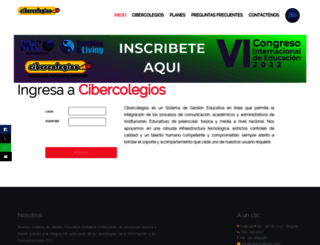cibercolegios.com screenshot