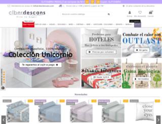 ciberdescans.com screenshot