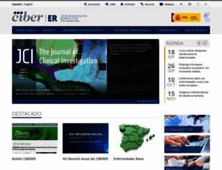 ciberer.es screenshot