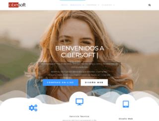 cibersoft.com screenshot