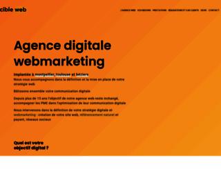 cibleweb.com screenshot
