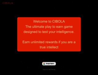 cibola.co.in screenshot