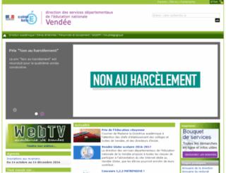 cic-lucon-ia85.ac-nantes.fr screenshot