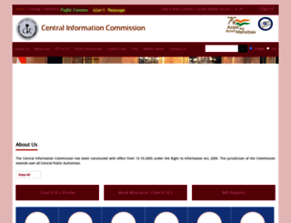 cic.gov.in screenshot