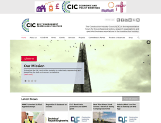 cic.org.uk screenshot