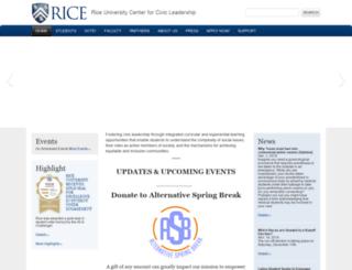 cic.rice.edu screenshot