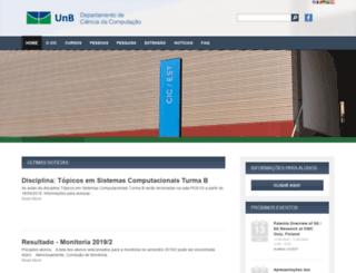 cic.unb.br screenshot