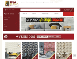cicabragapapeldeparede.com screenshot