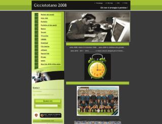 cicciototano.webnode.com screenshot