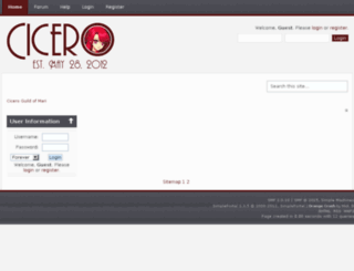 ciceromari.com screenshot