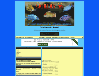 cichlides66.exprimetoi.net screenshot