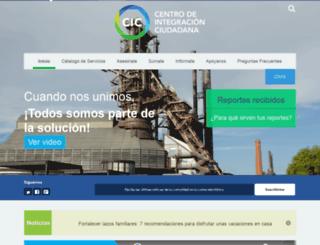 cicicalia.appspot.com screenshot