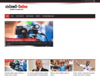 ciclismo-online.it screenshot