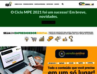 ciclo-mpe.net screenshot