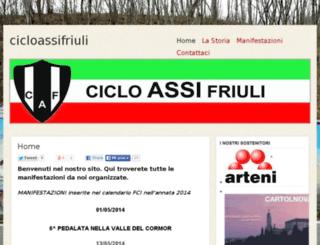 cicloassifriuli.altervista.org screenshot