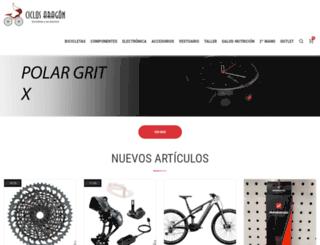 ciclosaragon.com screenshot