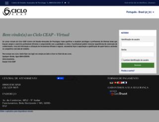 ciclovirtual.com.br screenshot