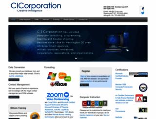 cicorp.com screenshot