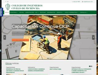 cicp-ec.com screenshot