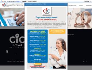 cicperu.travel screenshot