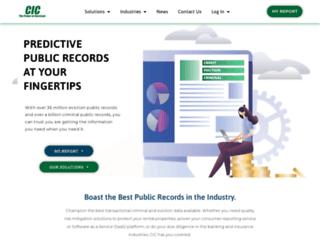 cicreports.com screenshot