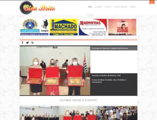 cidabrito.com.br screenshot