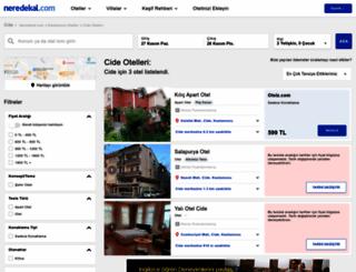 cide.neredekal.com screenshot