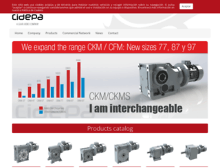 cidepa-sincron.es screenshot