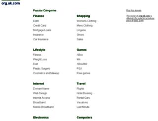 cie.org.uk.com screenshot