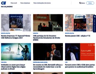 cieerj.org.br screenshot