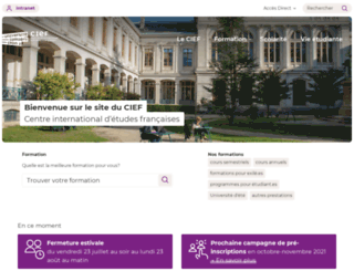 cief.univ-lyon2.fr screenshot