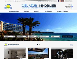 cielazurimmo.com screenshot