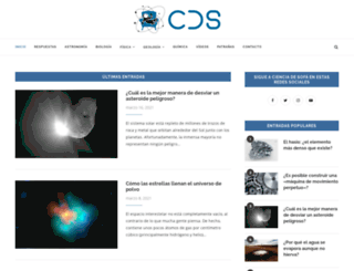 cienciadesofa.com screenshot