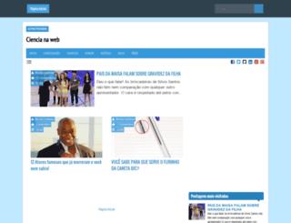 ciencianawebs.blogspot.com.br screenshot