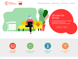 cieplosystemowe.pl screenshot