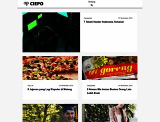 ciepo.com screenshot