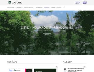 cietec.org.br screenshot