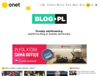 ciezki-jak-z-waty.blog.pl screenshot