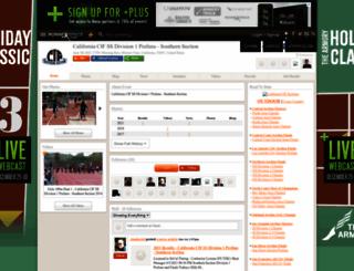 cif-ss-division-1-prelims.runnerspace.com screenshot