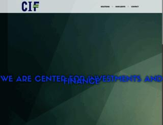 cif.co.rs screenshot