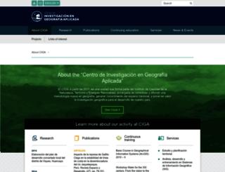 ciga.pucp.edu.pe screenshot